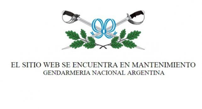 Hackearon la página web de Gendarmería con leyendas sobre el caso Maldonado