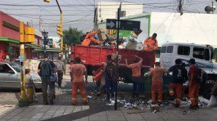 Comenzó a normalizarse la recolección de residuos en Paraná
