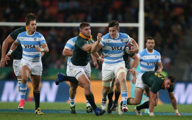 Los Pumas con seis cambios para enfrentar a Sudáfrica