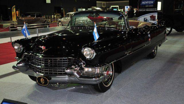 Restauraron el Cadillac que compró Perón en 1955