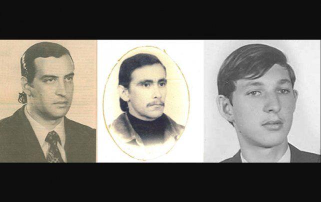 Fernádez Osuna y Sobko. Capellino está acusado de ser cómplices de sus asesinatos.