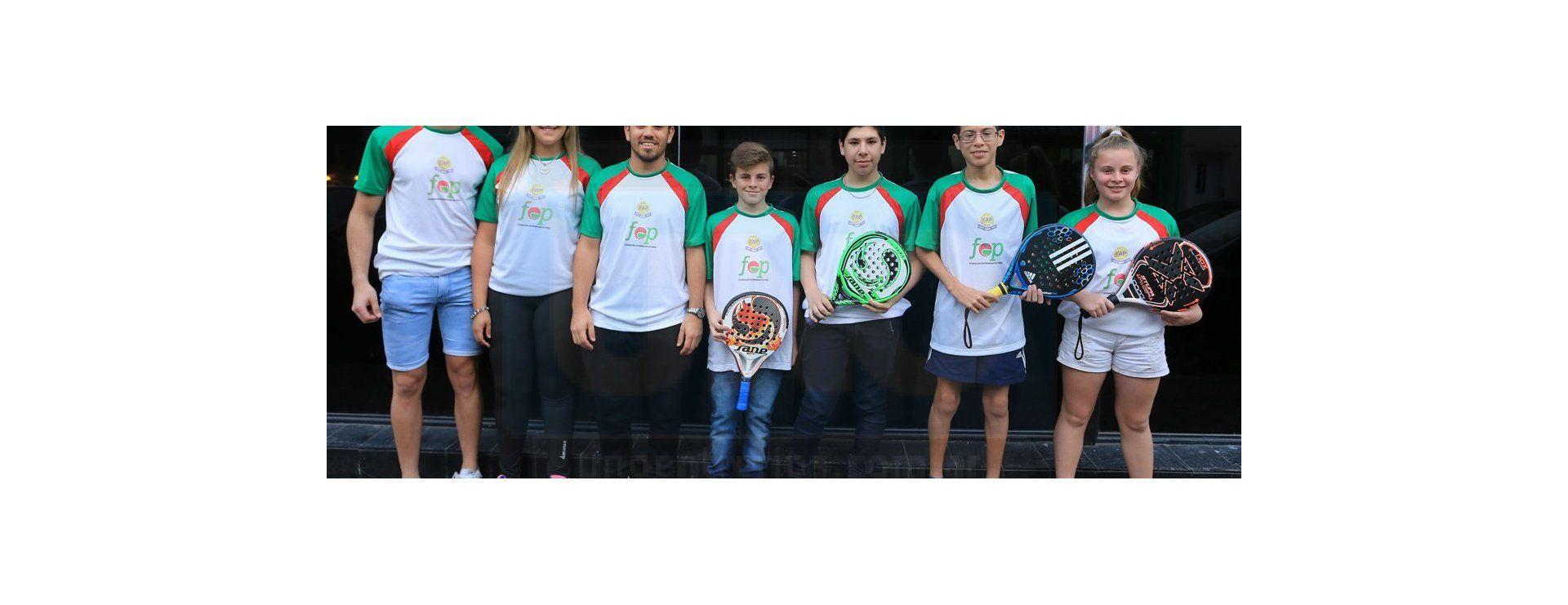 El futuro del Padel: los entrerrianos visitaron la redacción de UNO tras el torneo nacional en La Plata