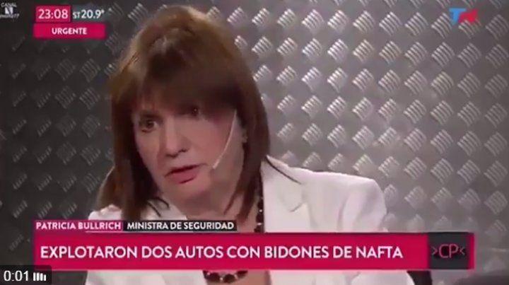 El increíble furcio de Patricia Bullrich sobre Santiago Maldonado