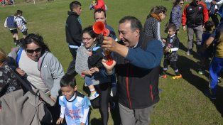 Las familias en el torneo Naranjitos 2017. Foto UNO Mateo Oviedo.