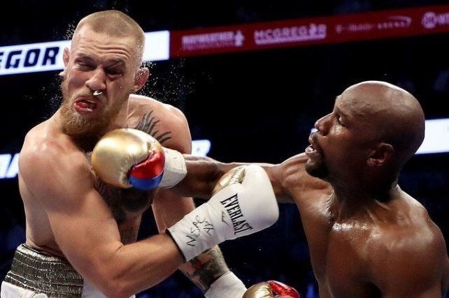 Mayweather salvó el honor del boxeo.
