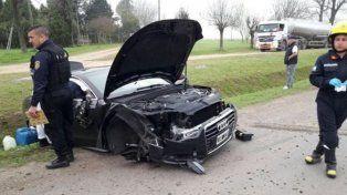 El hermano de Lionel Messi sufrió un duro accidente de tránsito