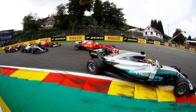 Hamilton se quedó con el triunfo en el Gran Premio de Bélgica