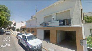 La comisaría de San Martín es conocida como El Colador