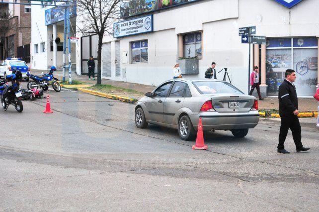 Accidente en las Cinco Esquinas complicó el tránsito