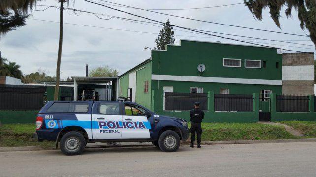 En San Benito. La Federal llegó a la casa de una persona que estuvo vinculada con la venta de drogas.