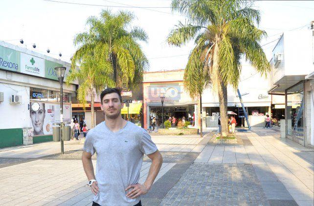 Lisandro en Paraná. Foto UNO Mateo Oviedo.