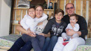 El gualeguaychuense y su familia