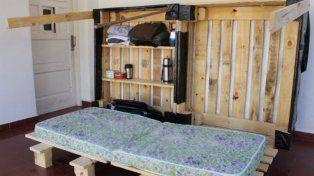 Gualeguaychuense inventó un refugio portátil para personas en situación de calle