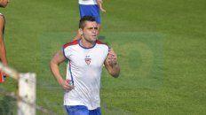 Ezequiel Luján realizó ayer su primera jornada laboral en Atlético Paraná.