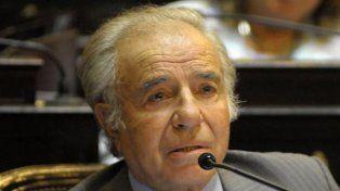 Carlos Menem podrá competir por una banca del Senado en las Legislativas de octubre