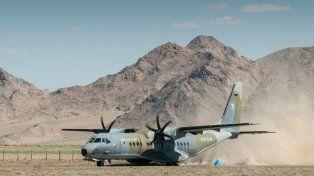 El avión llegando a Mongolia. Foto: Václav Šilha