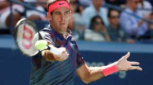 Del Potro dio el primer paso en el US Open