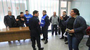 Reclamos cruzados. Un familiar de Duarte criticó a Goró y este se defendió. Foto UNO. Juan Ignacio Pereira.