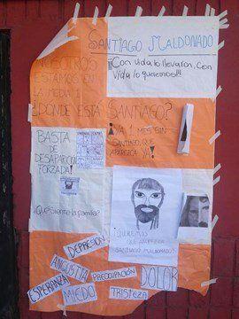 Sancionaron a una docente por dar una clase sobre la desaparición de Santiago Maldonado