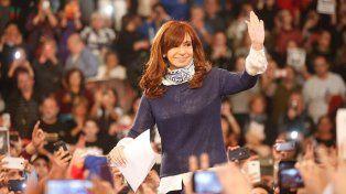 Cristina relanzó su campaña con críticas al Gobierno y advertencias a la Justicia Electoral