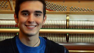 Talento. El joven pianista victoriense