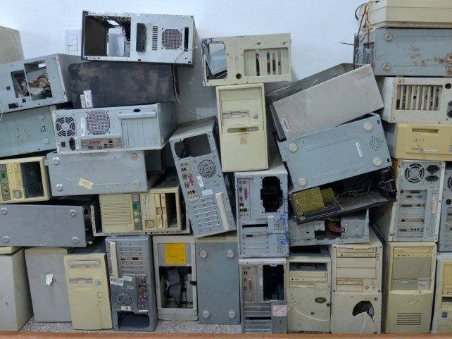 Obsoletos. Los equipos en desuso serán reciclados.