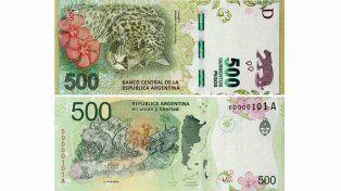 Circula un video de cómo detectar los billetes falsos de 500 pesos