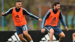 Los dorsales de la Selección Argentina ante Uruguay