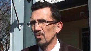 El fiscal. El funcionario judicial admitió que la muerte de los mellizos golpeó a Villa Elisa.