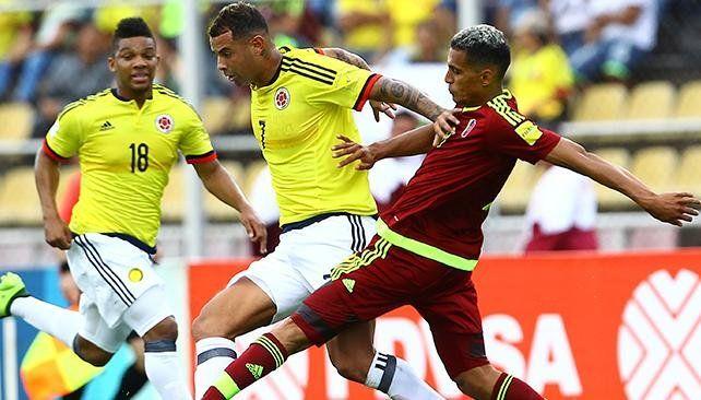 Colombia no pudo con Venezuela y puso en riesgo el segundo puesto