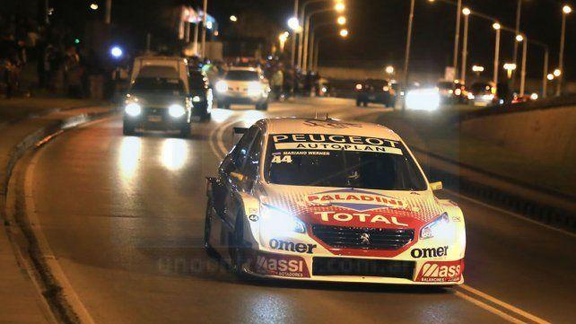 Agustín Lima Capitao manejó el auto de Mariano Werner