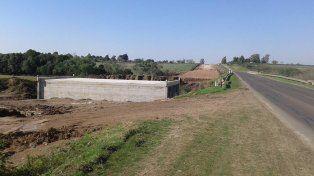 Autovía. El tramo más cercano a Paraná es el más avanzado.
