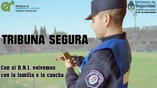 Tribuna Segura: se implementará por primera vez en entre Ríos con Patronato-Argentinos