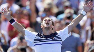 Batacazo de Schwartzman que se metió en octavos del US Open