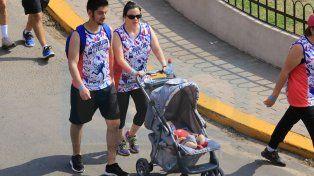 Miles de corredores participaron de la Maratón del Becario