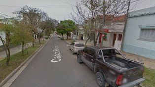El robo se produjo en calle Pellegrini. Imagen Street View.