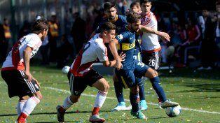 Boca se quedó con el Superclásico ante River en San Juan