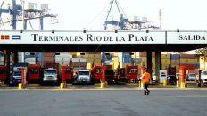 Desde adentro. Tres de los implicados en el contrabando trabajaban en la terminal portuaria.