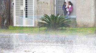 Emitieron alerta por precipitaciones intensas