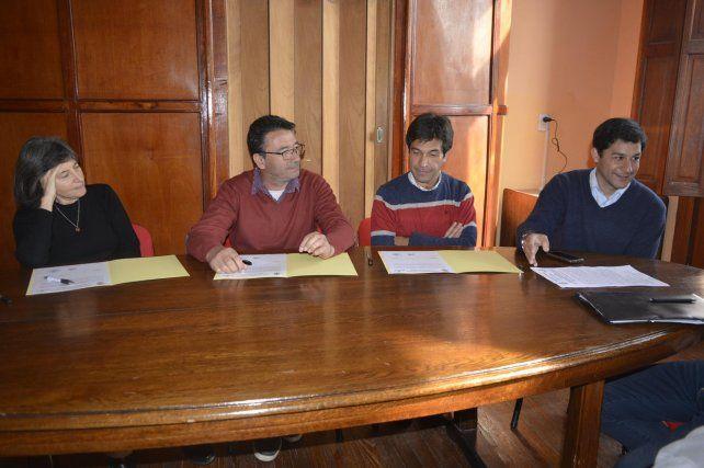 Firmaron el Acta Ciudadana por la construcción del skatepark en Diamante