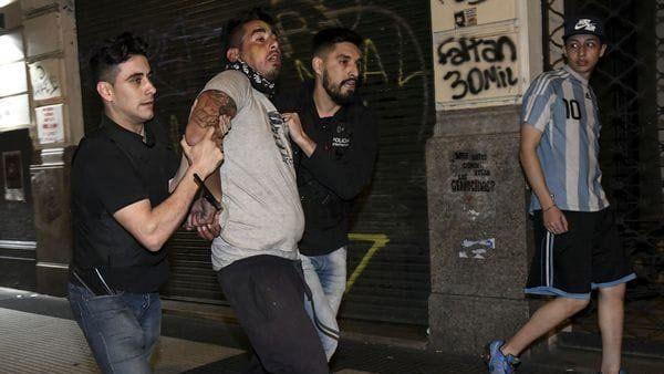 Liberaron a los detenidos tras la marcha por Santiago Maldonado