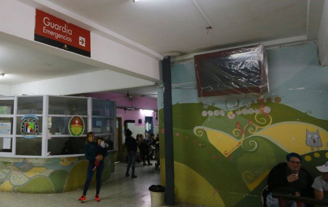 Los médicos del hospital San Roque advirtieron la situación y radicaron la denuncia. UNO/Diego Arias