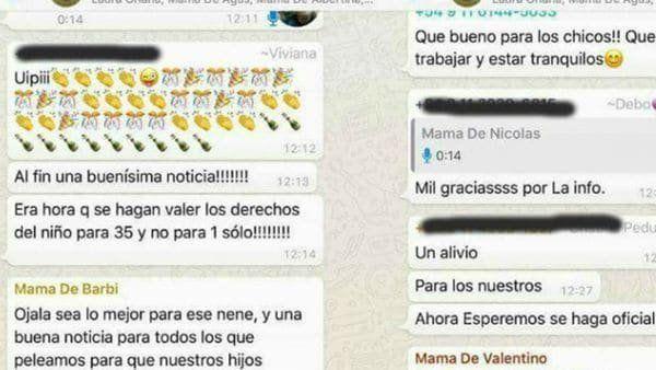 Mamá de grupo de WhatsApp que festejó la exclusión de niño con Asperger dijo que la amenazaron de muerte