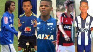 En un torneo Sub 15 de Brasil, cinco jugadores se llaman Riquelme