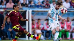 Argentina necesita ganar ante Venezuela