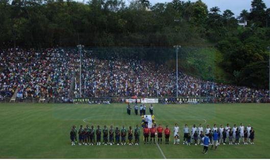 Insólito estadio donde Nueva Zelanda logró la clasificación al repechaje para Rusia 2018