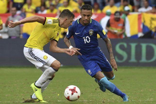 Colombia cortó la racha de Brasil en las eliminatorias