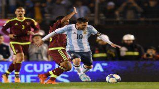 Argentina empató con Venezuela y siguen en Repechaje