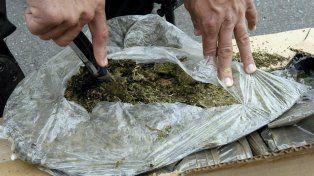 Marihuana prensada traída de Paraguay y decomisada. Foto Internet.