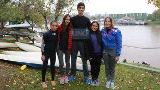 Cuatro de los cinco chicos de Paraná no pudieron viajar. Mackinnon no iba a participar.